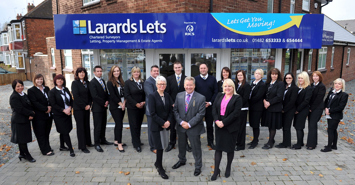 The Larards Lets Property Team